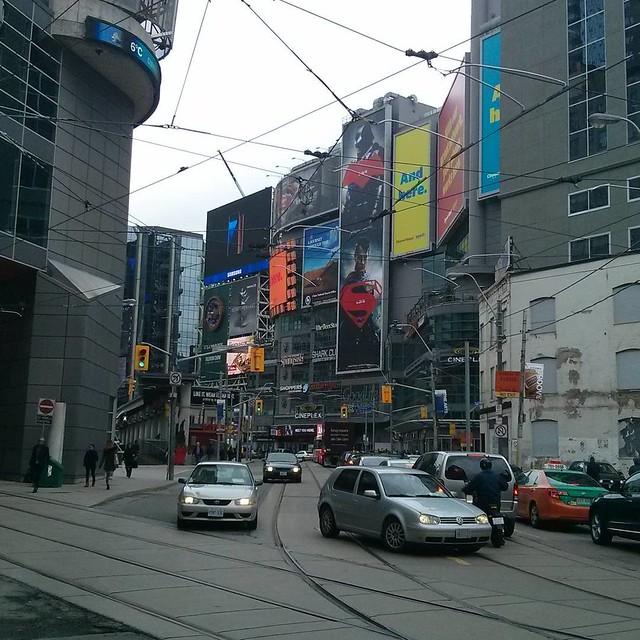 Yonge-Dundas Square from the east #toronto #yongeanddundas
