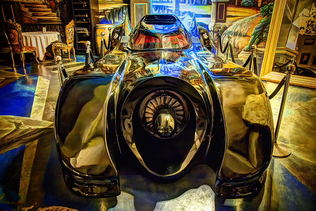 """""""Batman returns"""" batmobile in Taiwan"""