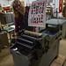 Stephanie Pulls a Print