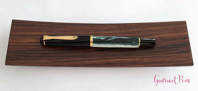 Review Pelikan Tradition Series M200 Green Marble Fountain Pen @Goldspot (13)