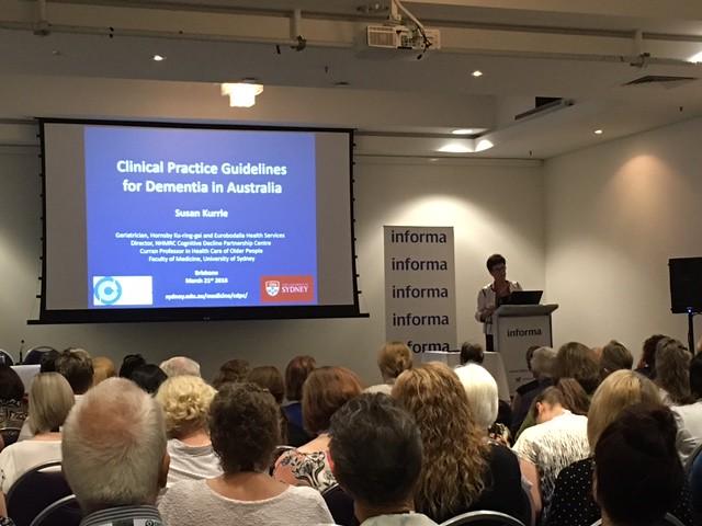 Professor Susan Kurrle The University of Sydney & NHMRC Cognitive decline partnership centre