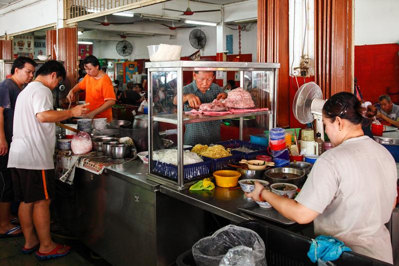 Sun Sea Seafood Pork Noodle Stall