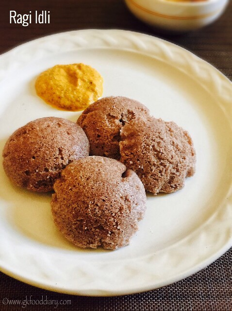 Ragi Idli Dosa Recipe for Babies, Toddlers and Kids6