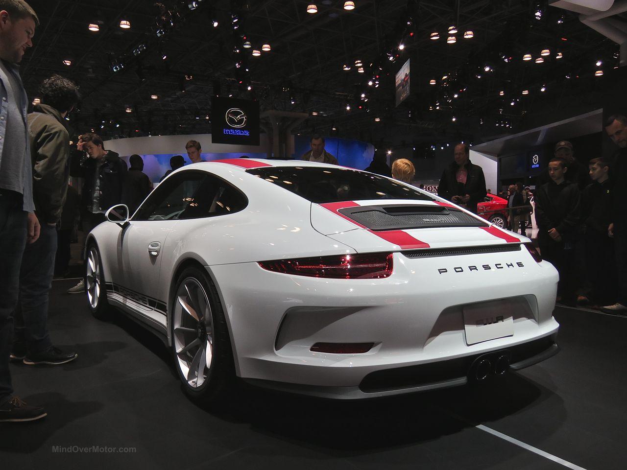 Porsche 911R NYIAS 2016 Rear