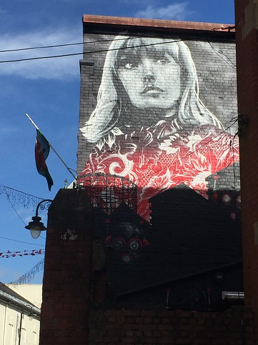 Mural in Cardiff