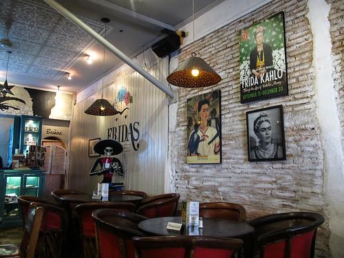 Antigua: Frida's restaurant