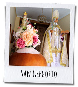 San Gregorio is de beschermheilige van Torremanzanas, een klein authentiek dorp in het groene achterland van Benidorm