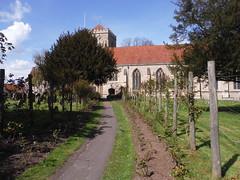 Path to Dorchester Abbey