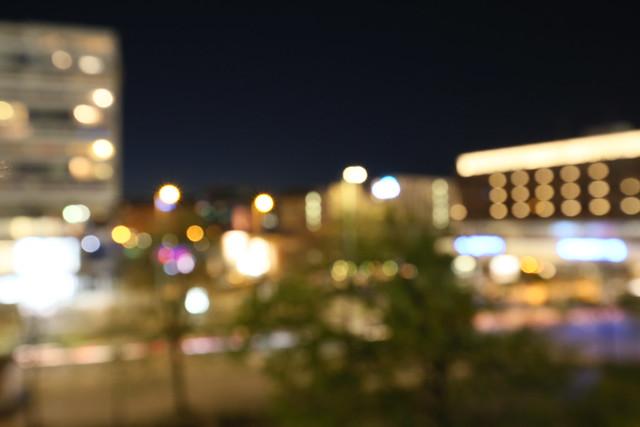 City lights - good night