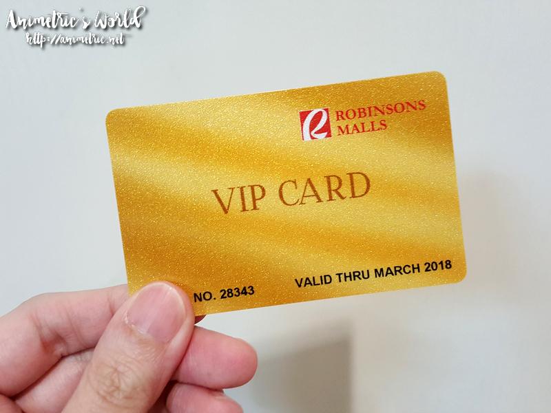 Robinsons VIP Card