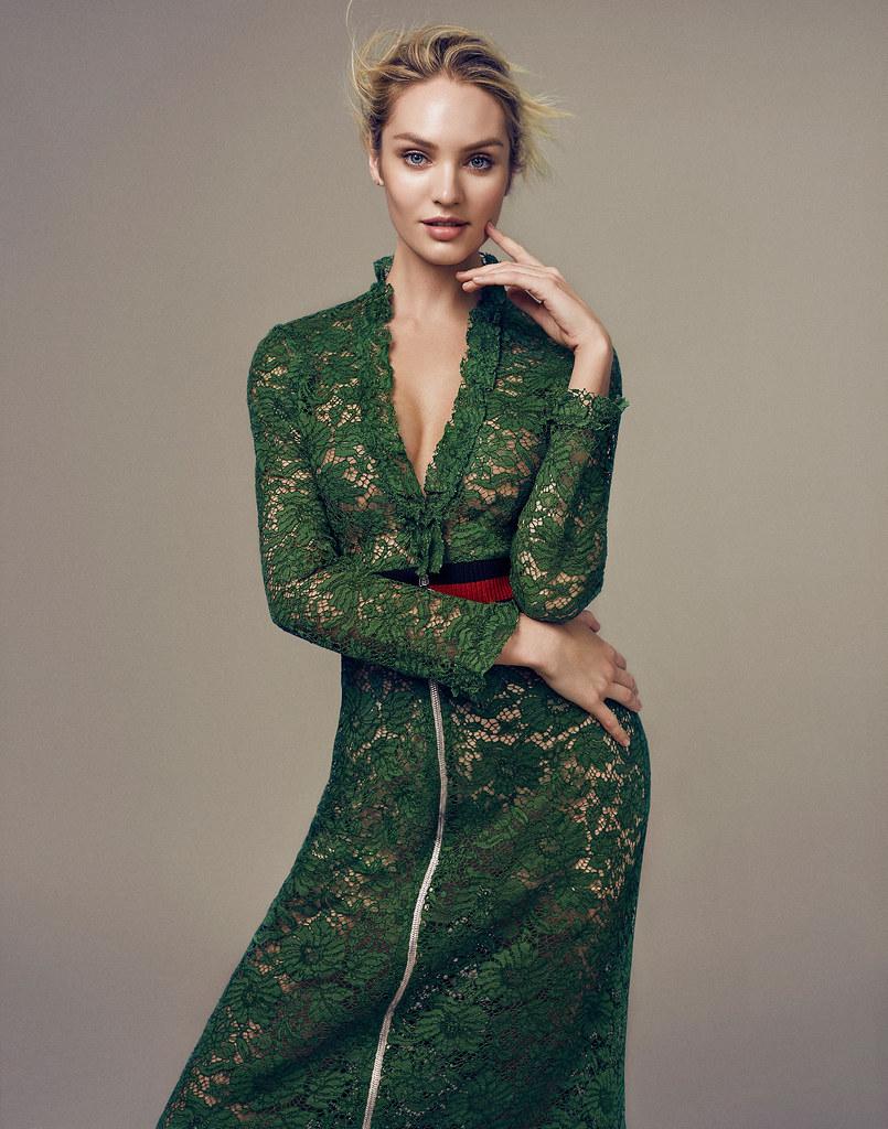 Кэндис Свейнпол — Фотосессия для «Elle» CH 2016 – 11
