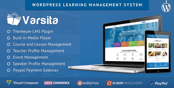 Varsita v2.1 - WordPress Learning Management System