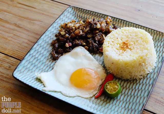 Lunch Specials - Sisig Rice (P199)