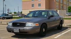 Fort Worth, TX Police Unmarked Ford Crown Victoria