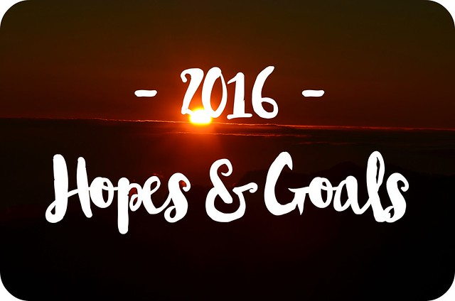 2016 Hopes & Goals