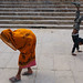 Ghat scene - Varanasi, India by Maciej Dakowicz