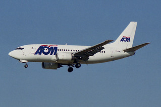 AOM French Airlines Boeing 737-53C F-GINL