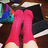 Summer socks done! #ravelry #operationsockdrawer #knitting