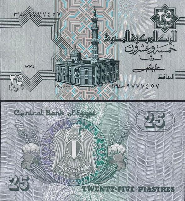 25 Piastrov Egypt 1984 P54