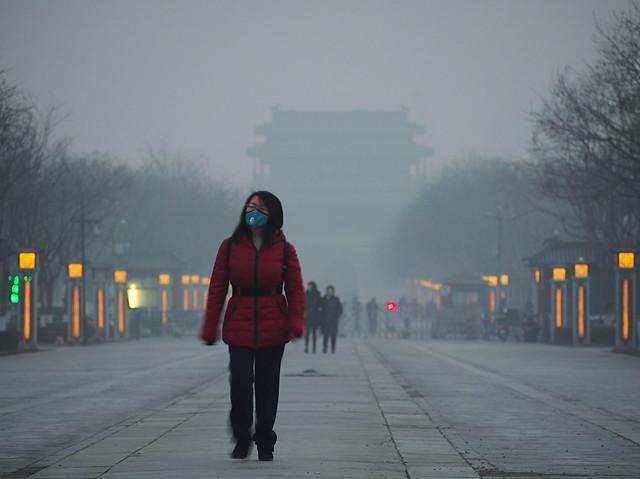 Smog Alert In Beijing