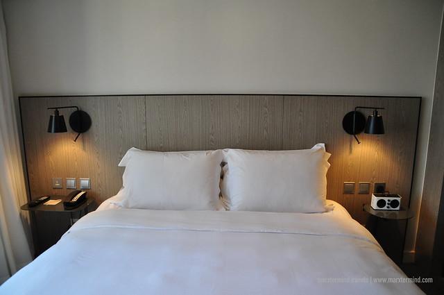 My King Bed at pentahotel