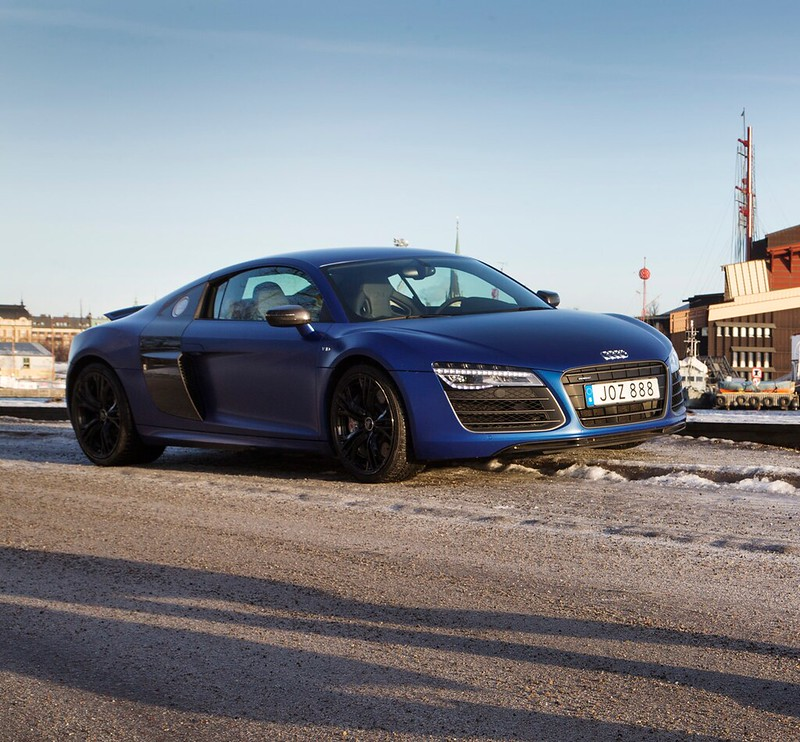 Audi R8 V10 PLUS 550HK