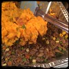 #homemade #SweetPotato #SheppardsPie #CucinaDelloZio - cover meat mix w/potatoes