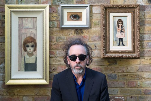Tim Burton and Margaret Keane - Paintings - 1
