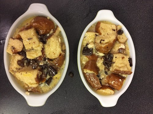 Bread pudding for one (5)