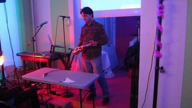 instrument-a-day 18: whispering imp uke, live at wordhack!