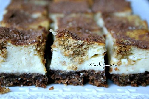 Cheesecake con base al cacao e amaretti