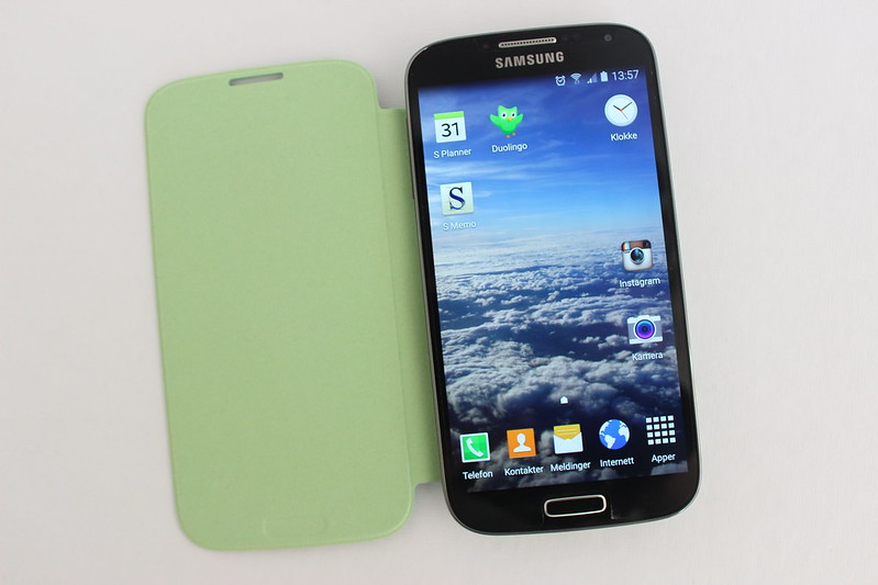 Green phone cover