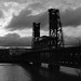 Steel Bridge, Portland by austin granger