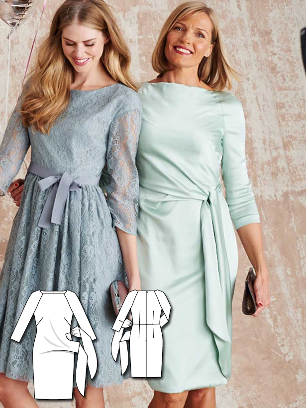 Bridesmaid Dresses: 10 New Women\'s Sewing Patterns – Sewing Blog ...