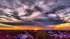 #sunset #today #sky #landscape #clouds #instasky #instaclouds #igers #igersbsas #instasunset #sun #BuenosAires by #Samsung #Galaxy #S6Edge