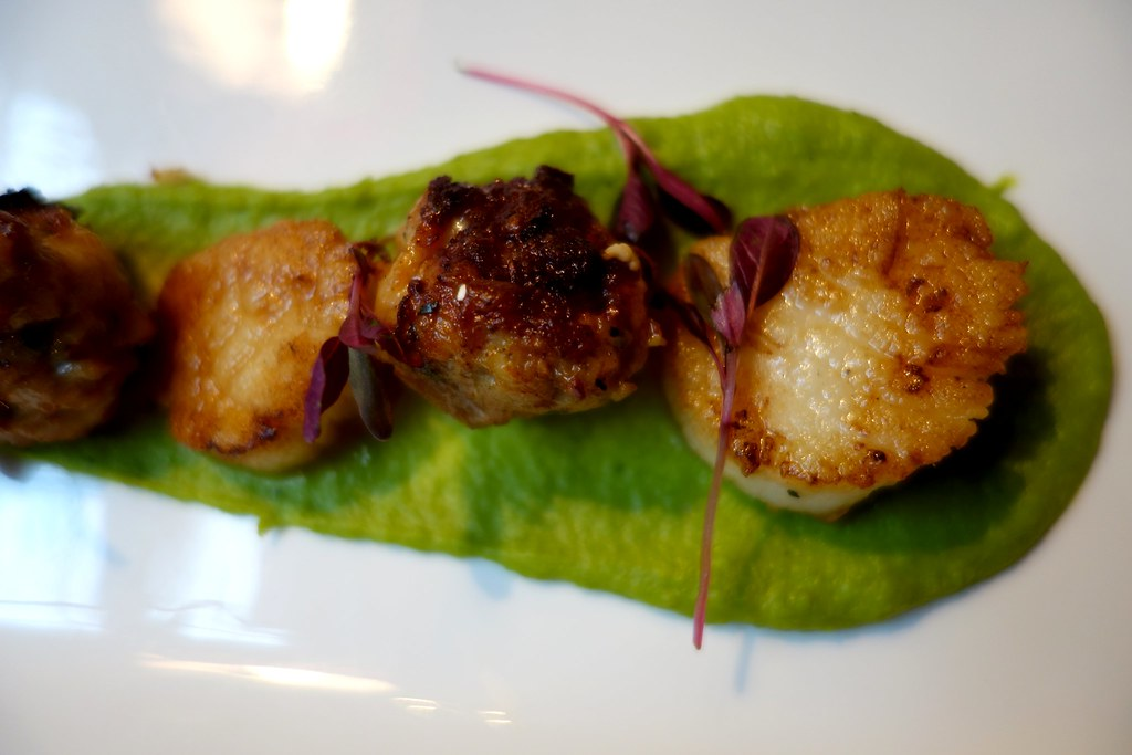 The Ship Tavern - Scallops with Rabbit