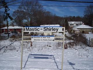 Mastic-Shirley