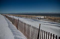 Snow Fence on Neshotah