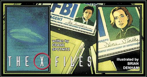 The X-Files - Comics - Art 1
