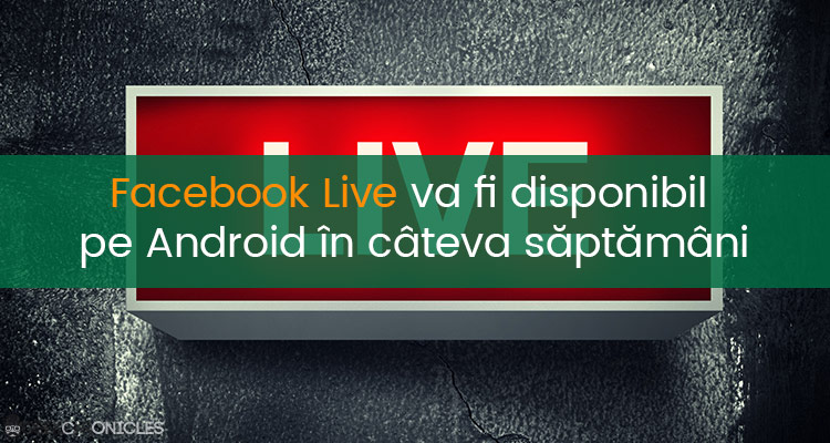 facebook live pe Android