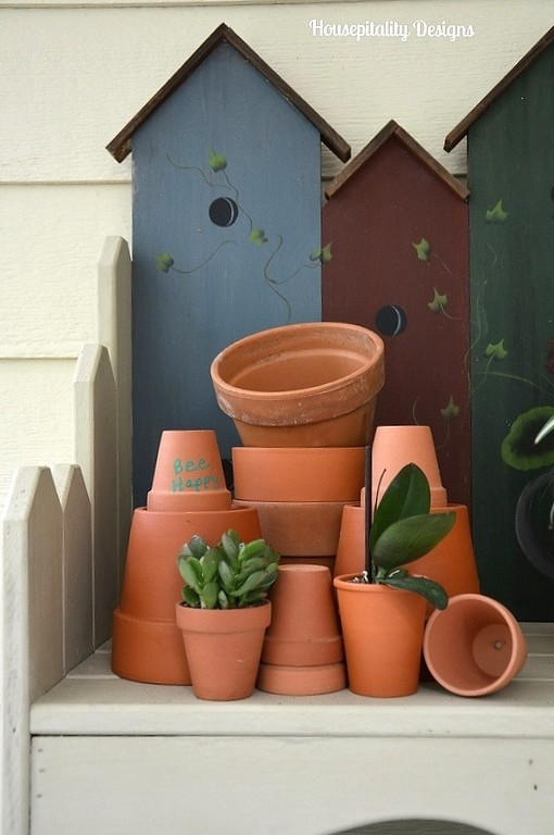 Flower Pots/Potting Bench - Housepitality Designs