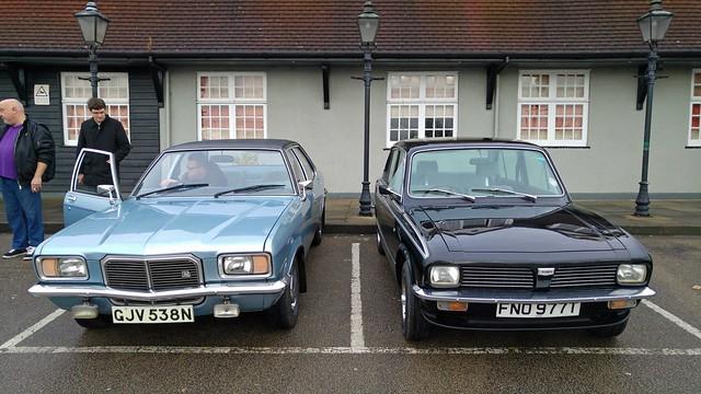 1975 Vauxhall Victor 2300S & 1979 Triumph Dolomite 1500 SE