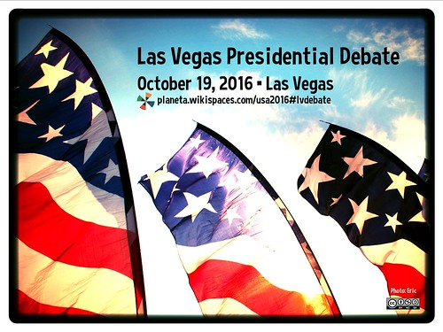 Las Vegas Presidential Debate October 19, 2016