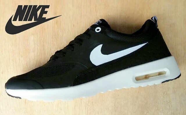 Nike Air Max Thea Schwarz Gold 42