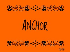 Buzzword Bingo: anchor