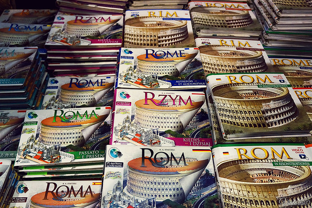 Souvenirs from Rome. Italy