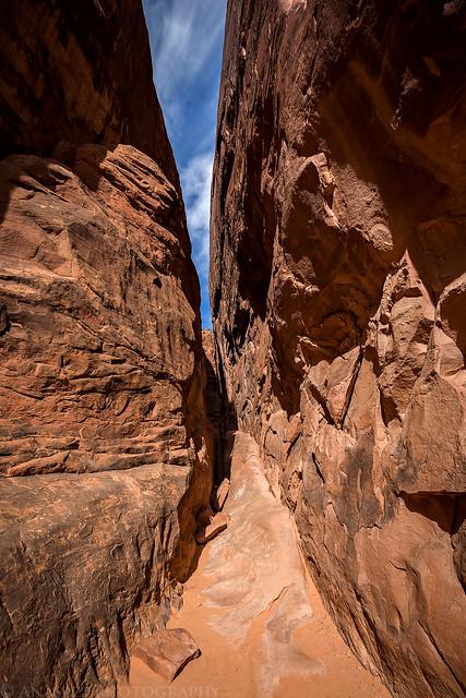 Narrow Entrance
