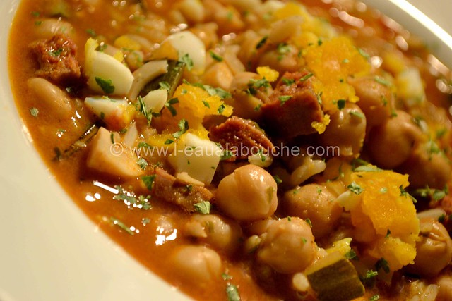 Potage de Pois Chiche au Chorizo Epicé © Ana Luthi Tous droits réservés 11