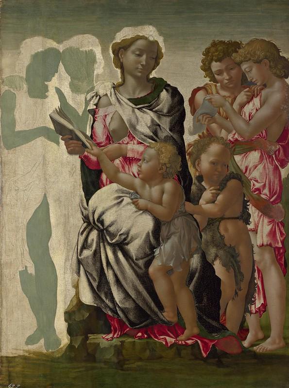 Michelangelo - 'The Manchester Madonna' (c.1497)