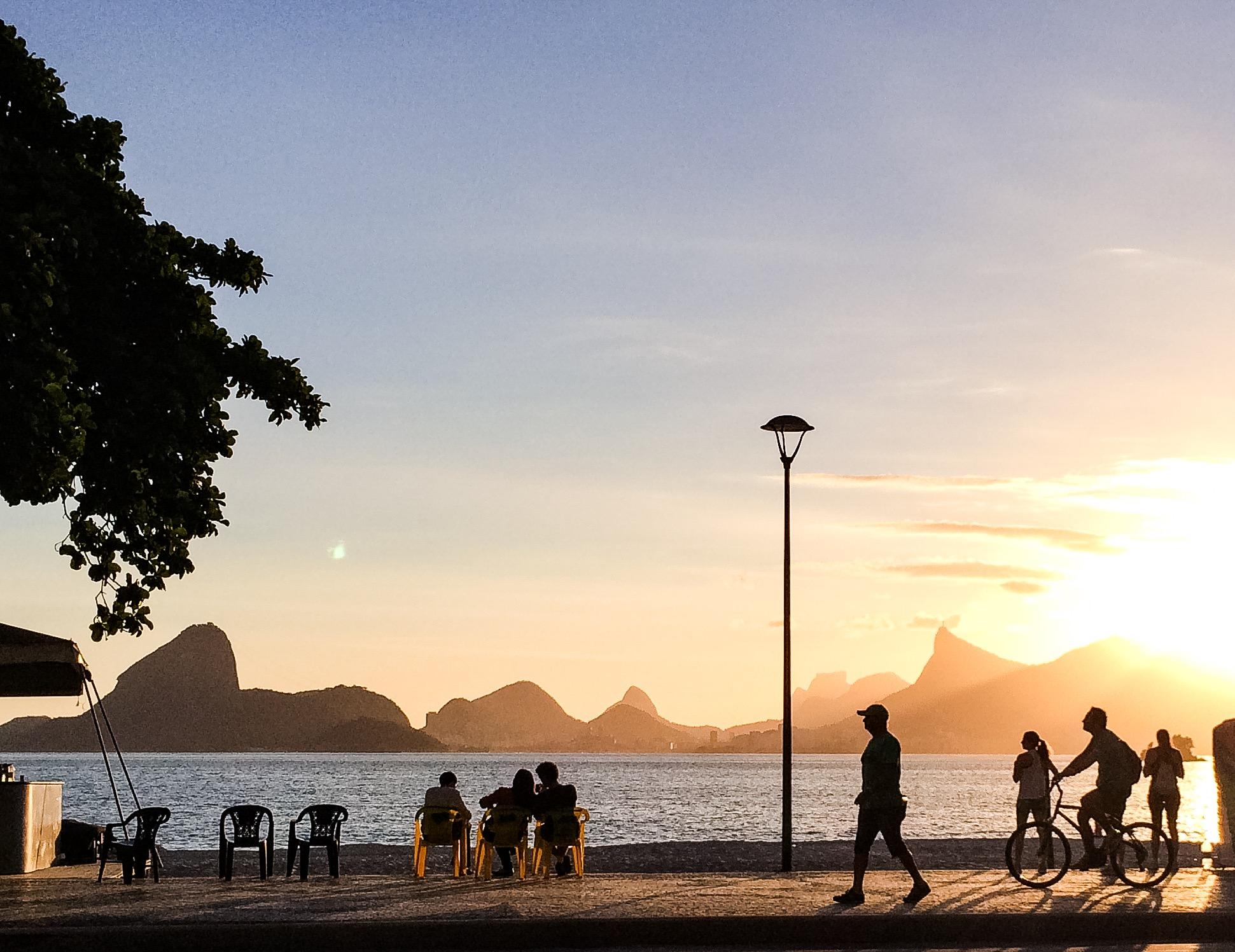 6 on 6 - Lugares que Gostamos - Niterói, Praia de Icaraí
